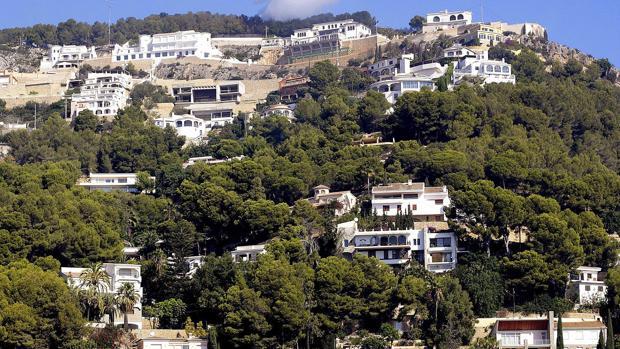 Imagen de archivo de una zona montañosa de Jávea