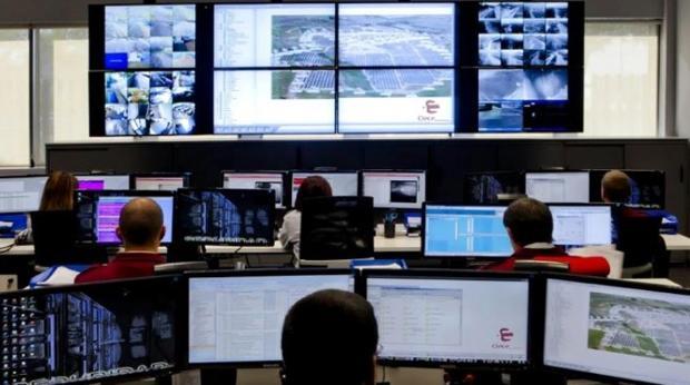 Sala de control de Clece