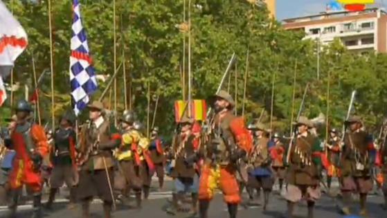 El desfile de los Tercios de Flandes