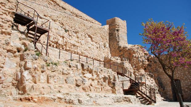 Ruinas del castillo de la ciudad de Cuenca