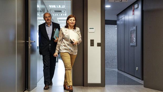 Isabel Bonig y Eusebio Monzó, en una imagen de archivo