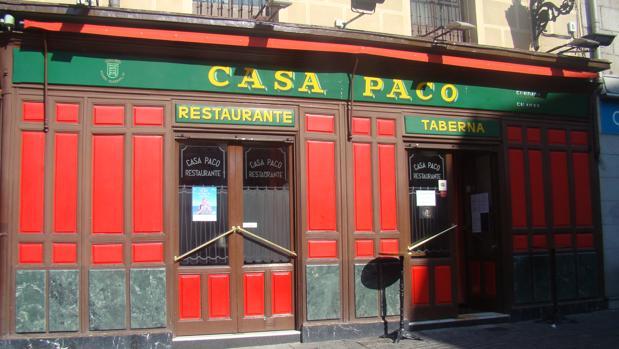 Casa Paco se ha ganado la confianza y el cariño de muchos madrileños