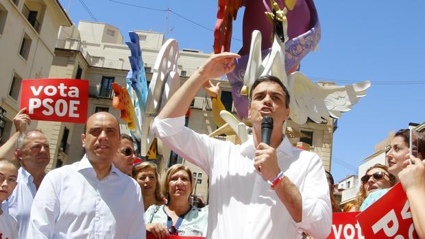 Imagen de Echávarri y Sánchez tomada en junio del pasado año en Alicante