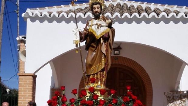 La imagen de san José de Herencia