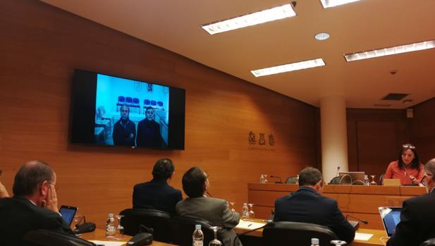 Imagen de la comisión de investigación celebrada este jueves en las Cortes Valencianas