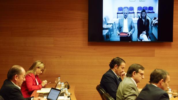 Imagen de la comisión parlamentaria celebrada este jueves