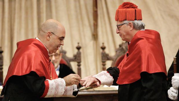 Jean Claude Juncker es investido doctor honoris causa por la Universidad de Salamanca