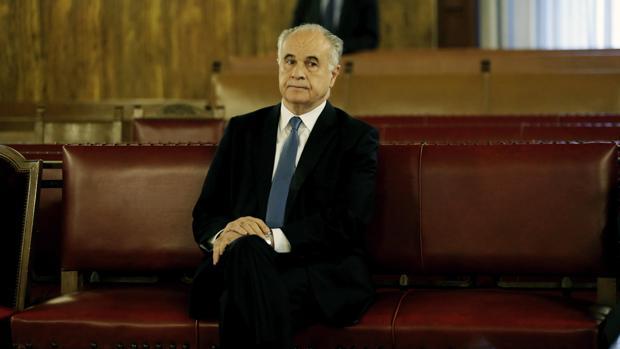 Imagen de Rafael Blasco durante el juicio