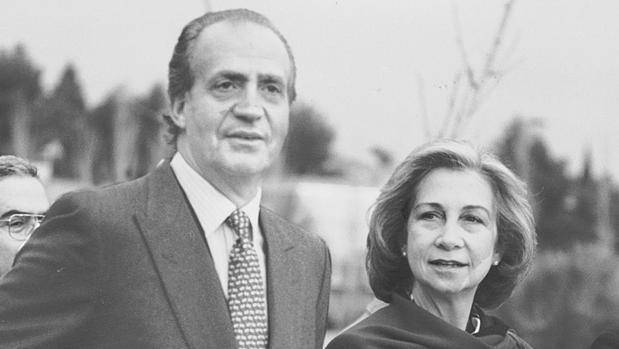 Don Juan Carlos y Doña Sofía, en una imagen de archivo tomada en 1994