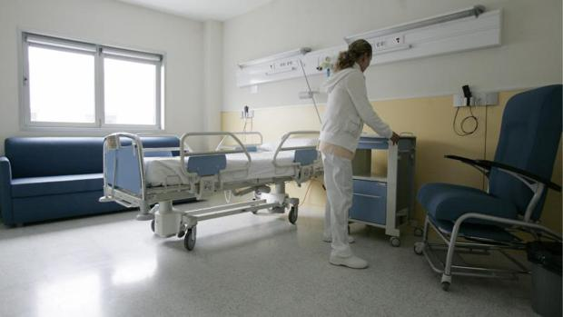 Imagen de archivo del interior de un hospital público madrileño