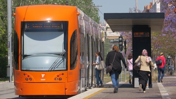 Imagen del TRAM de Alicante