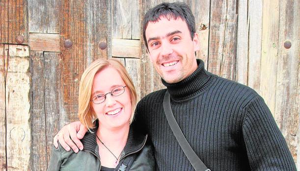 Dos jóvenes que decidieron instalarse en Maderuelo (Segovia)