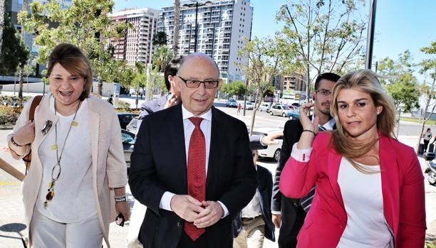 Bonig, Montoro y Ortiz, en una imagen tomada en Valencia en junio del pasado año