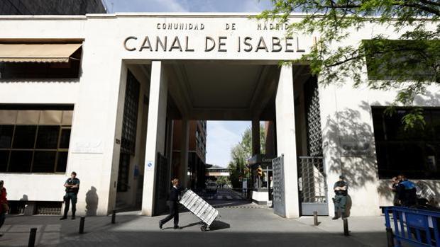 Sede dek Canal de Isabel II, en la calle de Santa Engracia de Madrid