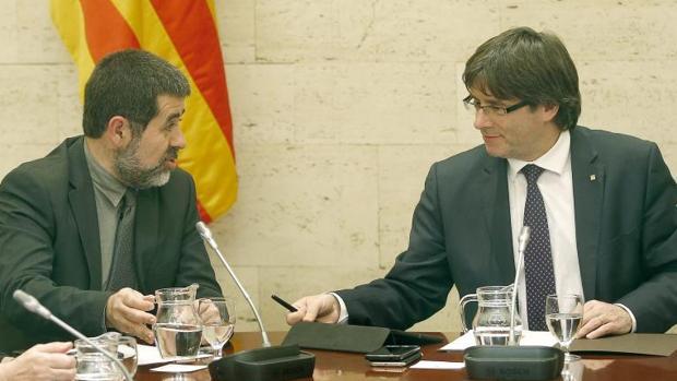 Puigdemont tiene pensado incluir a Jordi Sánchez en su «lista del president»