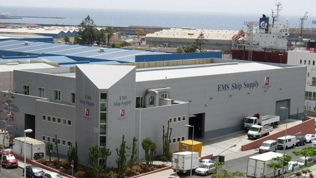 Oficinas de Seven Seas en el Puerto de Las Palmas