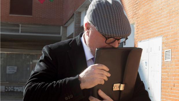 El comisario jubilado José Manuel Villarejo, en una imagen de febrero del año pasado