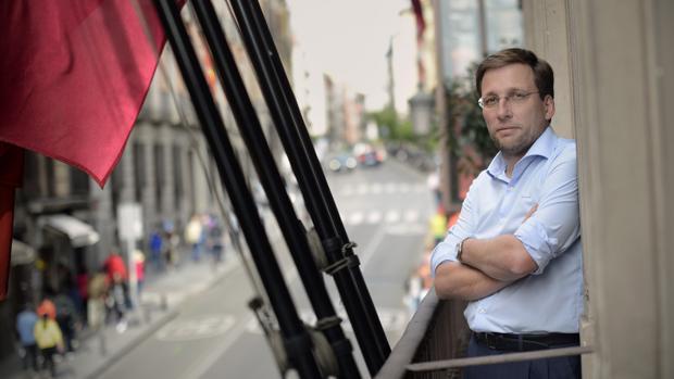 El portagoz del PP en el Ayuntamiento, José Luis Martínez-Almeida