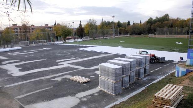 El nuevo campo polifuncional de la Escuela de Gimnasia va a costar 191.000 euros