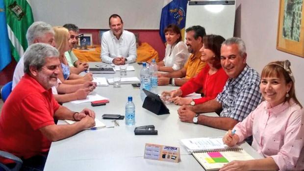 Óscar Hernández es presidente de turno de la Mancomunidad del Sureste