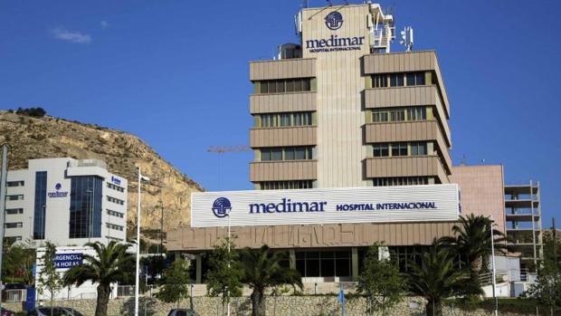 Clínica Internacional Medimar en Alicante, del grupo de Vithas Nisa