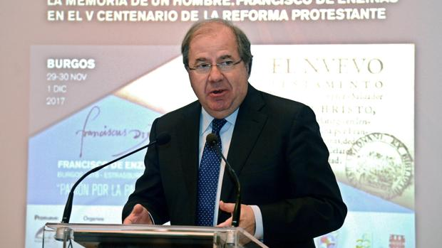 El presidente de Castilla y León, en una imagen de archivo