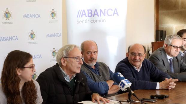 De izquierda a derecha, Marta Pita, Carlos Pajares, Ignacio Rodríguez Mendizábal y Ubaldo Rueda
