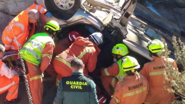 Imagen de otro rescate de los Bomberos de Valencia el pasado 30 de noviembre