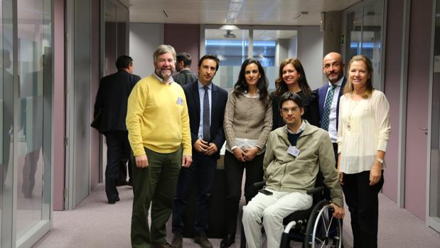 Miembros del jurado del premio otorgado por Indra y la Fundación Universia