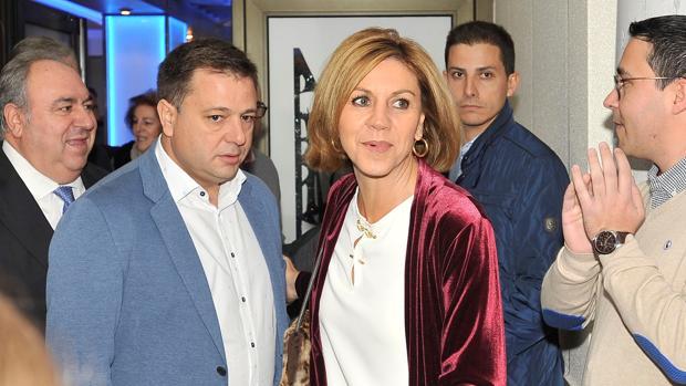 La ministra de Defensa, secretaria general del PP y presidenta del partido en Castilla-La Mancha, María Dolores de Cospedal