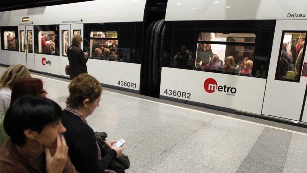 Imagen de archivo del metro de Valencia