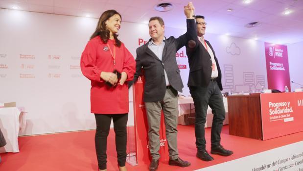 Page respalda a José Manuel Caballero, junto a Pilar Zamora