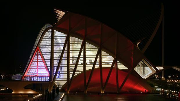 Imatge de la Ciutat de les Arts i les Ciències de València