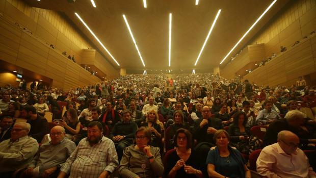 Cientos de personas asistieron a la clasura, que se celebró en el Palacio de Congresos