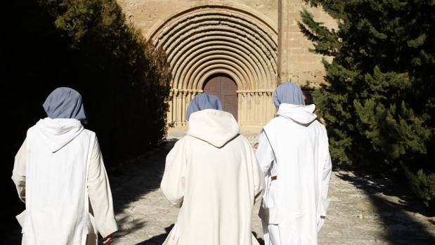 Las piezas han de regresar al histórico Monasterio de Sijena (Huesca), en la imagen