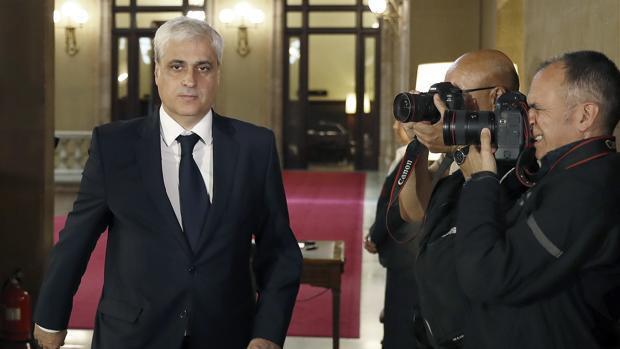 Germà Gordo, en el Parlament en una imagen de archivo