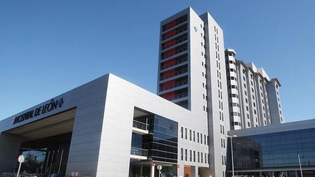 Fachada Hospital de León