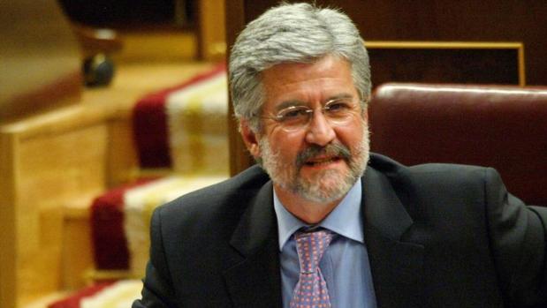 Manuel Marín, durante una sesión del Congreso