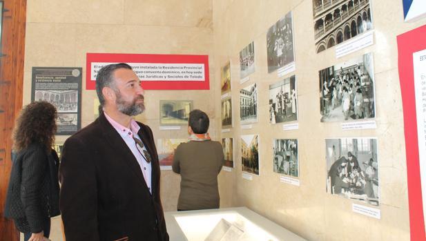 El diputado Rafael Martín, en la exposición