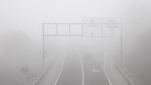 Niebla en El Bierzo (León)
