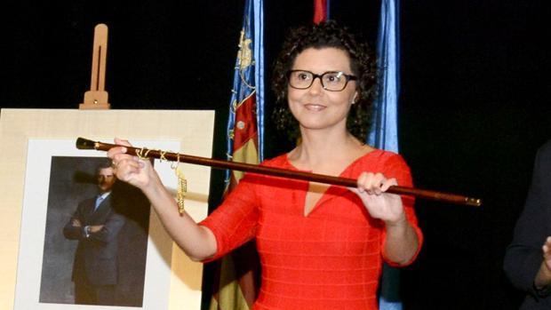 Imagen de archivo de la alcaldesa de Paiporta, Isabel Martín