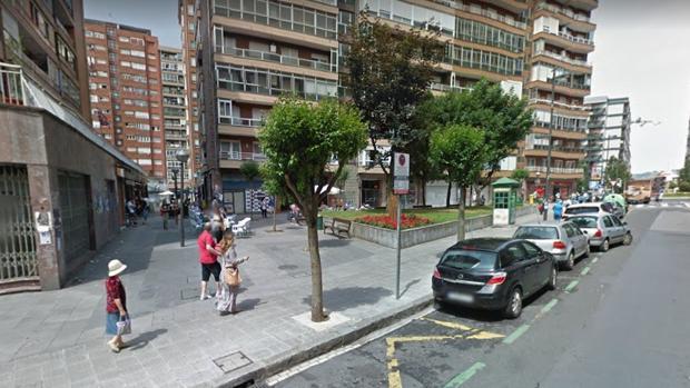 Barrio de Santuchu, en Bilbao
