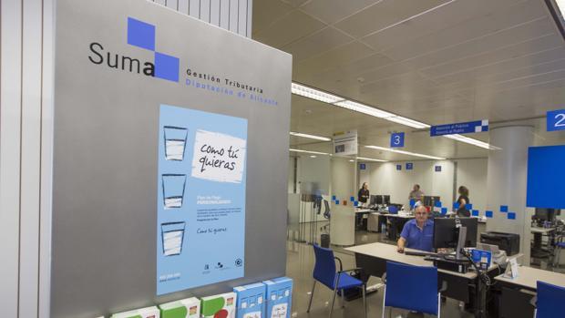 Una oficina de Suma en la provincia de Alicante