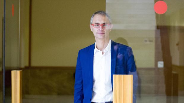 El nuevo rector de la Universidad de Salamanca, Ricardo Rivero