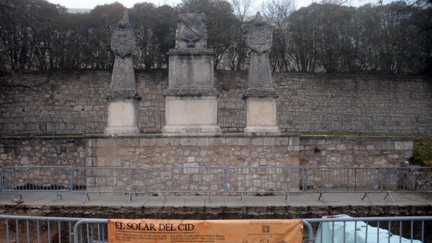 Las excavacaciones en «El solar del Cid» continuarán esta próxima primavera