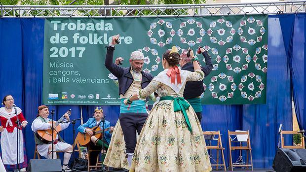 Trobada de Folklore als barris de la ciutat de València