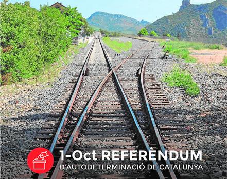 El cartel de la campaña publicitaria del 1-O