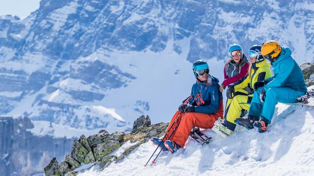 Las pistas de Aramón se extienden por el Pirineo aragonés y por las cumbres turolenses