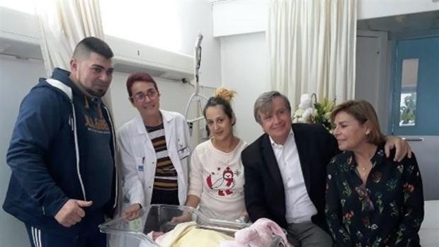 Los padres de Raisa han recibido la visita del presidente del Consorcio Sanitario de Barcelona