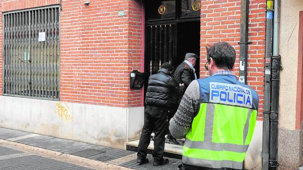 Vivienda de Medina del Campo en la que ocurrió el crimen